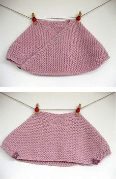 D.I.Y. | Cache-coeur - free pattern - La maglia di Marica