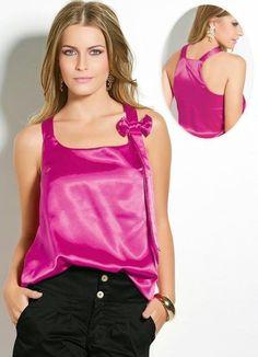 blusa simples de cetim - Pesquisa Google