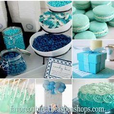 something blue bridal shower favor ideas personalized glass favor jars set of 12