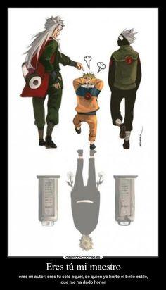NARUTO - Jiraiya, Kakashi by smallshouts // Kakashi? Naruto Vs Sasuke, Naruto Uzumaki Shippuden, Anime Naruto, Naruto Teams, M Anime, Kakashi Sensei, Naruto Sasuke Sakura, Naruto Comic, Wallpaper Naruto Shippuden