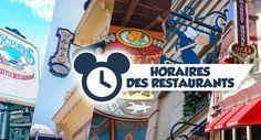 Vous avez été nombreux à les demander en vue de votre arrivée pendant les saisons d'Halloween et de Noël à Disneyland Paris. Les voici enfin ! Découvrez ci-après les horaires des restaurants pour le dernier trimestre 2015. Cliquez sur le mois qui vous intéresse ci-dessous pour découvrir les horaires des ...