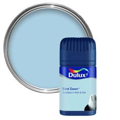 Dulux First Dawn Matt Emulsion Paint 50ml Tester Pot | Departments | DIY at B&Q