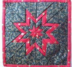 Folded Star Mat Tutorial