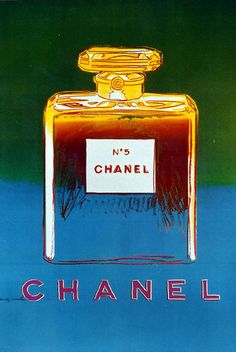 Vintage Chanel Poster by Andy Warhol