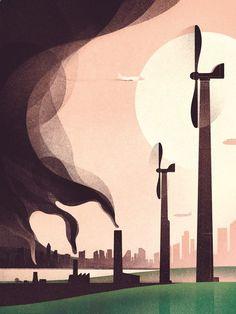 Slideshow: Editorial at Folio illustration agency Illustration Agency, Digital Illustration, Graphic Illustration, Environmental Art, Illustrations Posters, Conceptual Illustrations, Vector Art, Art Paintings, Art Drawings