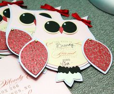 DIY Owl Party Invitations