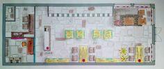 Examenproject trendjuwelier rookmaker - plattegrond