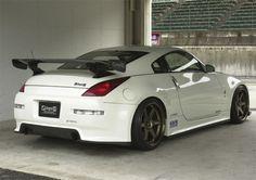 Ings N-Spec Full Body Kit for Nissan 350Z (Z33) Rear