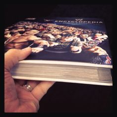It's thicker than the first. #WWE