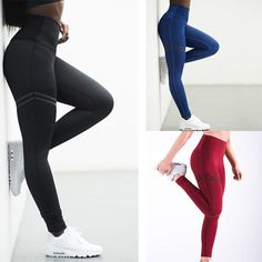 Push Up Yoga Pants Women High Waist Sport Leggings Fitness Workout Tights Pants Running Jogging Gym Sports Pants for Ladies Sports Leggings, Tight Leggings, Women's Leggings, Leggings Are Not Pants, Cheap Leggings, Running Pants, Sport Pants, Yoga Pants, Jogging