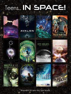 (An official reading list) 12 YA Books Set In Space! via YA Books Set In Space! via Reads Sci Fi Books, Ya Books, I Love Books, Good Books, Audio Books, Sci Fi Movies, Space Books, Space Movies, Books For Teens