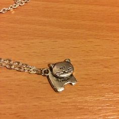 Cat Necklace, Cat Lovers, Cats, Shop, Silver, Diy, Stuff To Buy, Color, Jewelry