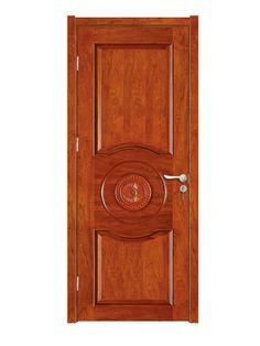 Interior Six Panel Solid Wood Exterior Door Design   Doors/Windows    Pinterest   Door Design, Solid Wood And Doors