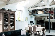 Tour an Industrial Loft Fit for a Family via @domainehome