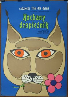 Russian movie The Path Towards Uninterested Love by Agasi Babayan. Polish poster by Zuzanna Lipinska 1972. For children. Family. Drama