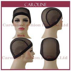غلويليس الدنتلة cap لصنع الباروكات مع الأشرطة قابل للتعديل النسيج قبعات للنساء الشعر الصافي و hairnets easycap بالجملة 6033