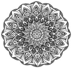 Mandala 24 June 2014 by Artwyrd.deviantart.com on @DeviantArt