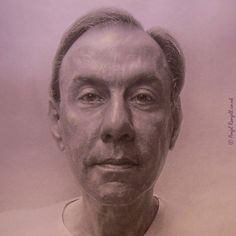 Mr. Stocco de Camargo Neves . Portrait Painting . Detail I .  Acrylic and egg tempera on Board . 77cm x 107cm .