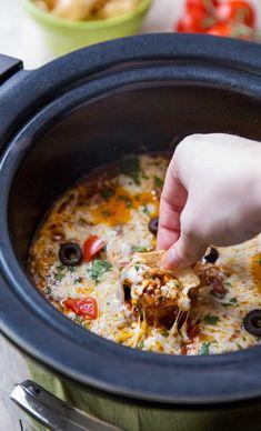 Crockpot taco dip recipes