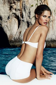 Bianca Balti Joins David Gandy As Dolce & Gabbana Light Blue Face (Vogue.com UK)