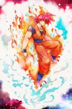Goku - Super Saiyan God