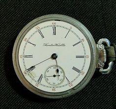 Antique Hamilton Watch 1901 Movement 131644 17Jewel Grade 925 Lancaster, PA