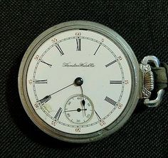 Antique Hamilton Watch 1901 Movement 131644 17Jewel Grade 925 Lancaster, PA