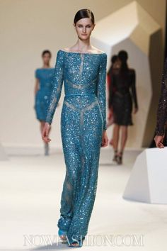 Elie Saab S/S 2013, Paris Fashion Week
