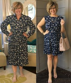 A free refashion is just what I needed this week! Not long ago, my church had a clothing swap. We all brought clothes that, for various r...