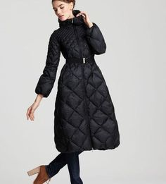 b304b86af2be Moncler Carcajou Long Quilted Down Coat - Coats   Jackets - Apparel -  Women s - Bloomingdale s