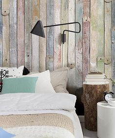 Loving this Vintage Wood Wall Mural on #zulily! #zulilyfinds