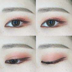 Korea Eyes Make Up #Ulzzang #dyeo_e