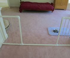 With these do-it-yourself creations, you will be able to build a simple, attractive, and cheap dog gates. Talking about the perfect solution for restricting y
