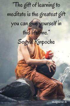 The greatest gift to oneself...Meditation #ChakraMeditation