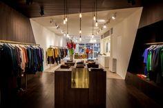 Interior tienda Nationale de Dieter Vander Velpen en Amberes