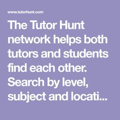 How to Start Tutoring at Tutor Hunt National Curriculum, Number Games, Hobbies And Interests, Math Skills, Improve Yourself, Teaching, Search, Maths, Students