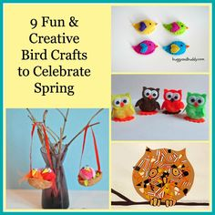 9 Cute little bird crafts to get ready for spring