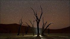 夜の砂漠はありえなほど美しい、ナミビア・ナミブ砂漠の夜景を撮影したタイムラプス映像「Namibian Nights」 - DNA