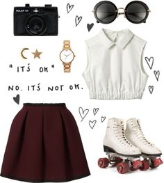 """""""uh oh I've fallen for you"""" by yell0wm00n ❤ liked on Polyvore"""