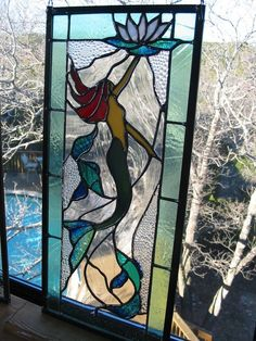 Mermaid Stained Glass Panel                                                                                                                                                                                 More