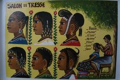 Braiding salon, Senegal