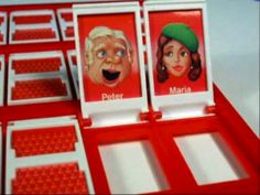 Guess Who? My favorite childhood board game.