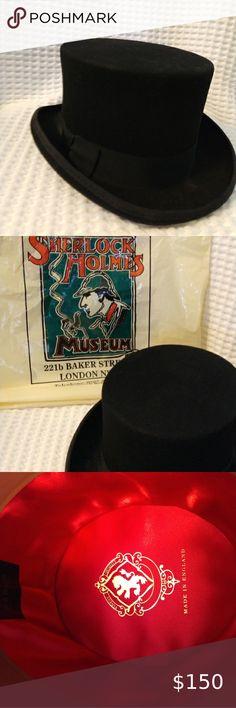 Burgess Hats Ltd Authentic Top Hat 100 Wool Beautiful Hats Top Hat Hats