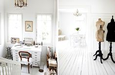 Country Style Chic: Vintage White