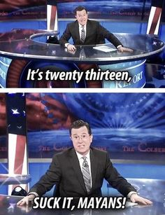 The Colbert Report  http://pinterest.com/mitch72/screencaps/