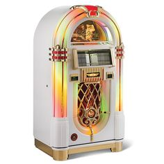 The King Of Rock Jukebox - Hammacher Schlemmer