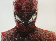 Print of original SpiderMan pencil drawing by ThePencilProject, $14.50