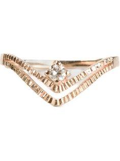 Kinz Kanaan Diamond Engagement Ring - Elviro By Cordelia - Farfetch.com