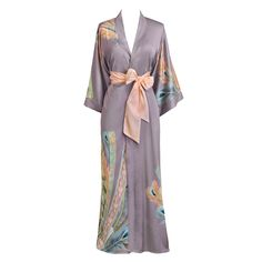 This beautiful, mid-weight kimono makes your life easy — it's easy to clean and easy to wear. With the soft, gentle material and luxurious drape, whether you're lounging or layering, this kimono cover up will make you feel like a queen. Long Kimono, Kimono Dress, Plus Size Maxi Dresses, Short Sleeve Dresses, Very Short Dress, Cap Dress, Cosplay Dress, Lingerie, Night Gown