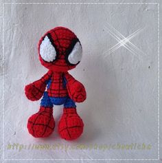 Knitting Pattern For Spiderman Doll : 1000+ images about Crochet - Spiderman on Pinterest ...